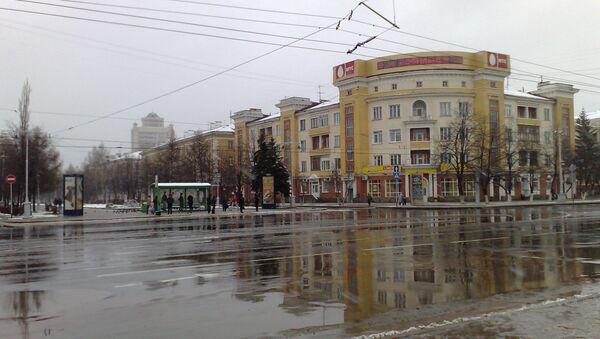 Вид города Кемерово. Архивное фото