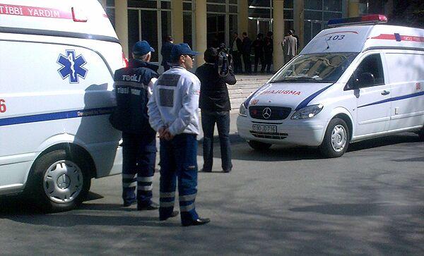 Скорая помощь в Азербайджане. Архивное фото
