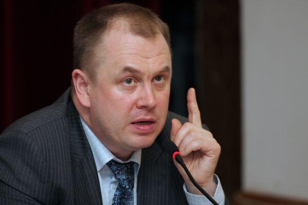 Статс-секретарь – заместитель министра промышленности и торговли РФ Станислав Наумов
