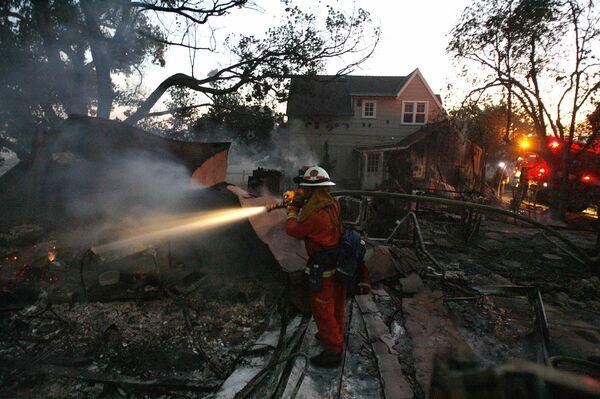 Пожары в Калифорнии. Справка