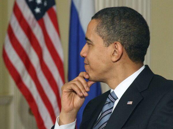 Барак Обама пообещал журналистам следующие 100 дней у власти уместить в 72