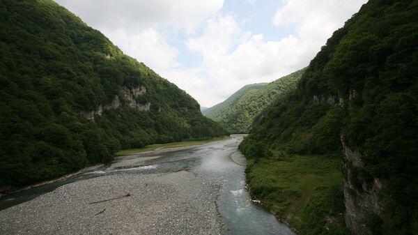 Река в Абхазии