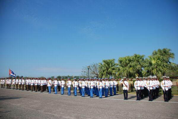 Военный парад в честь 9 Мая прошел на Кубе