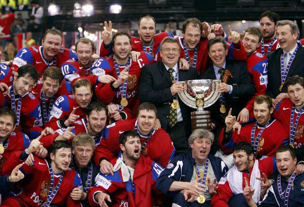 Сборная России по хоккею победила на чемпионате мира по хоккею