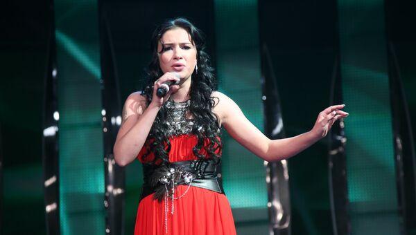 Анастасия Приходько на официальном открытии конкурса Евровидение-2009 в Евродоме