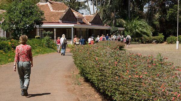 Кения, туристы