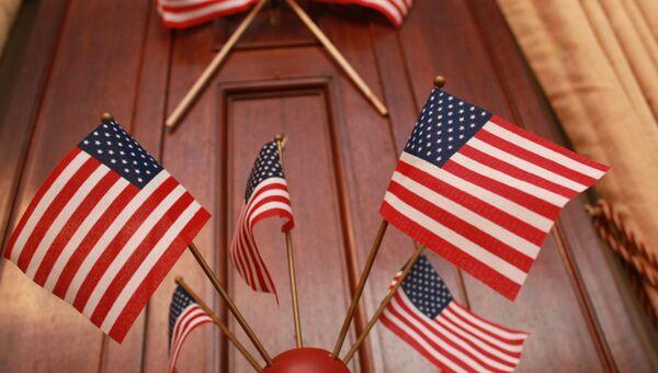 Флаги США. Архив