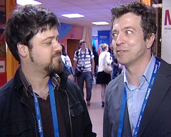 Русская милиция, метро и СК Олимпийский глазами гостей Евровидения