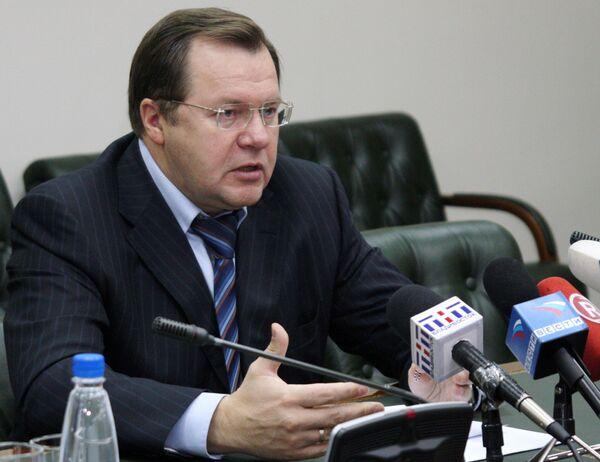 Куратор строек АТЭС - замминистра регионального развития РФ Николай Ашлапов