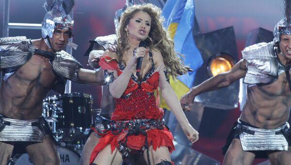 Светлана Лобода (Украина) в СК Олимпийский
