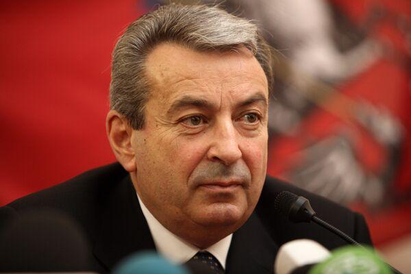 Ш.Чигиринский на пресс-конференции