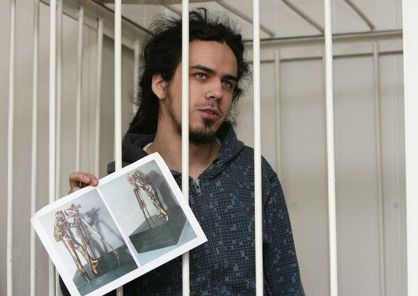 В Новосибирске суд заключил под стражу Артема Лоскутова