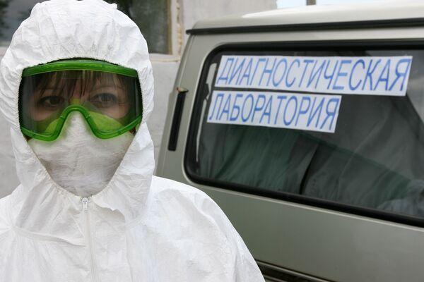 У госпитализированного в Москве гриппа нет, только гайморит - Онищенко