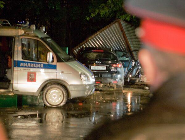 Убитые в иномарке в Москве были криминальными авторитетами - источник
