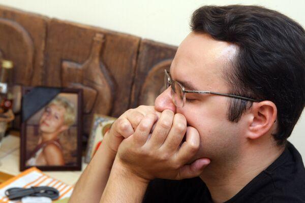 Муж Елены Шумм, предположительно сбитой милиционером