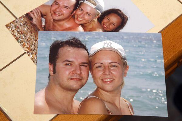 Алексей и Елена Шумм, предположительно сбитая милиционером