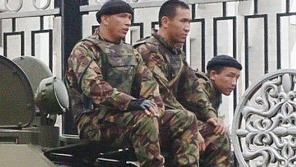 Киргизия перешла на усиленную охрану границы с Узбекистаном