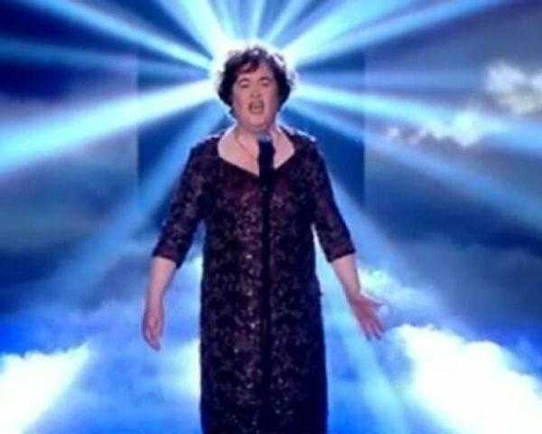 Голосистая сенсация Сьюзан Бойл вышла в финал прославившего ее шоу