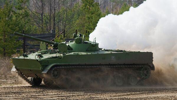 Боевая машина пехоты БМП-3. Архивное фото