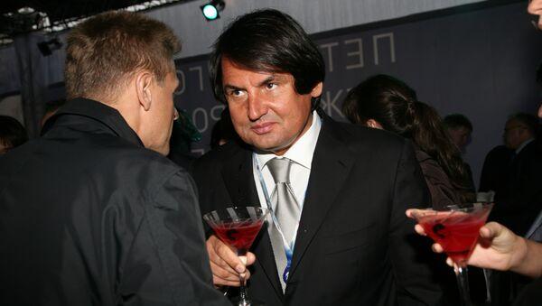Рустам Тарико, владелец компании Русский стандарт