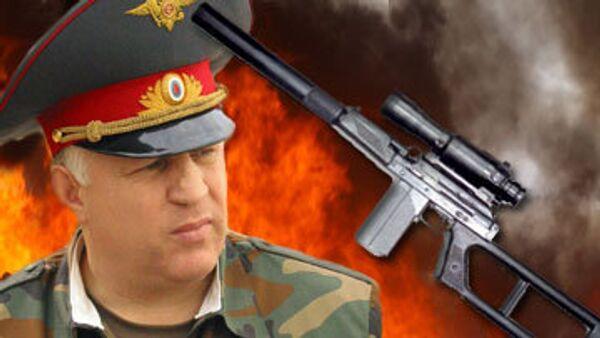 Убит глава МВД Дагестана Адильгерей Магомедтагиров из снайперской винтовки ВСК-94