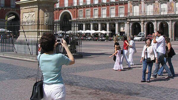 Мадрид, туристы