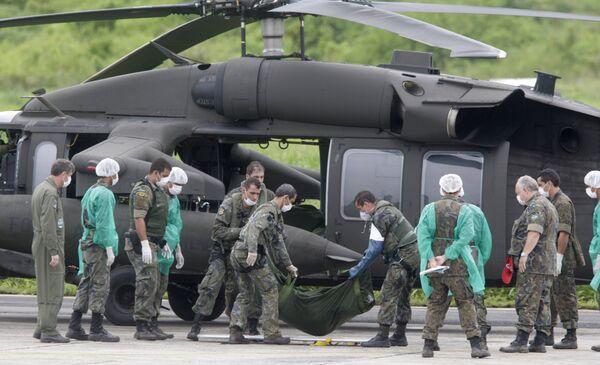 Тела погибших с пропавшего самолета А330 доставлены на архипелаг Фернанду-ди-Норонья