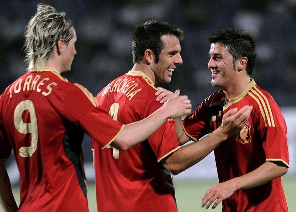 Сборная испании футбол 2009