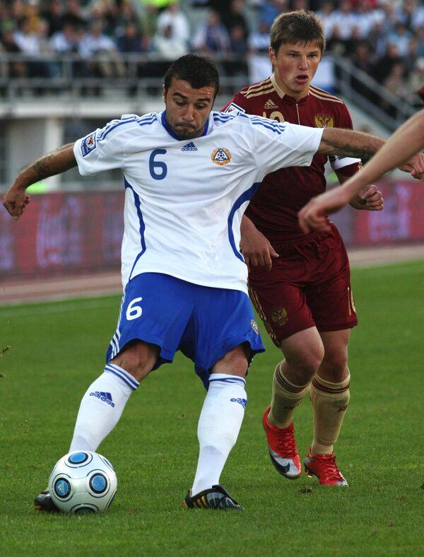Отборочный матч чемпионата мира по футболу-2010. Россия - Финеляндия