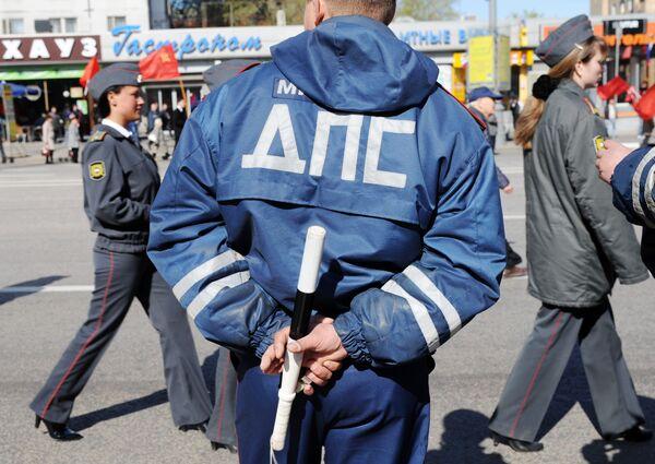 Более 90 тысяч сотрудников МВД обеспечивали безопасность в День России