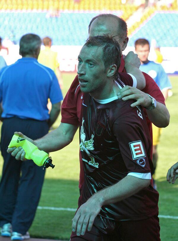 Футболист Рубина Петр Быстров