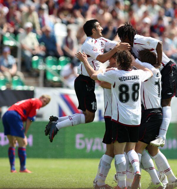 Футбол. Премьер-лига. 12-й тур. Москва (Москва) - ЦСКА (Москва) 2:0