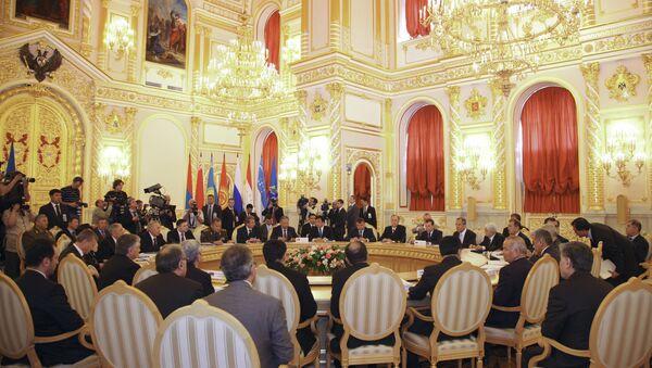 Саммит ОДКБ в Москве