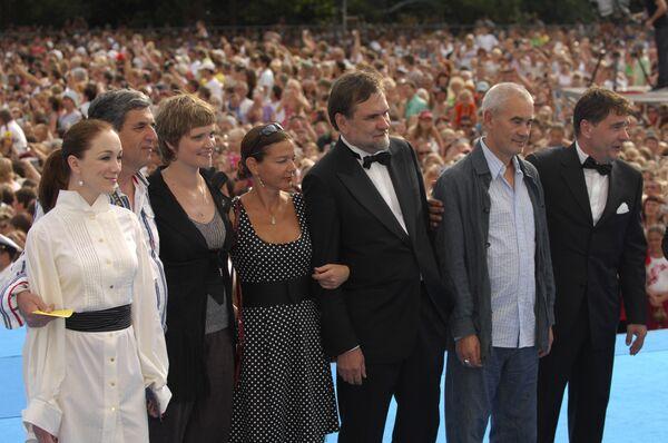 Жюри XX Открытого кинофестиваля Кинотавр