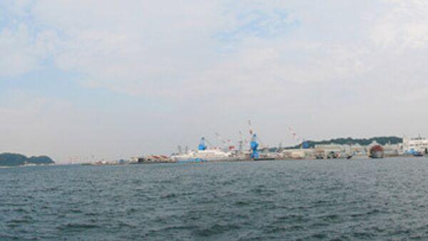Морской порт Йокосука