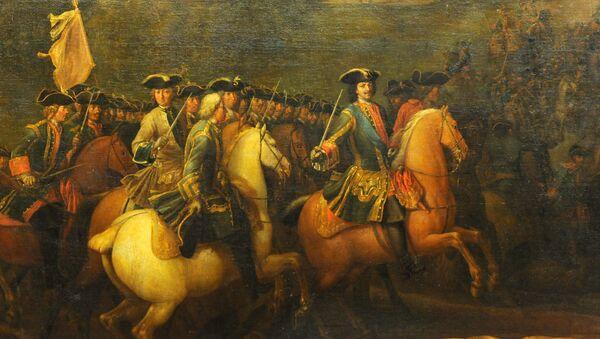 Экспонаты выставки Полтавская баталия, 27 июня 1709 года