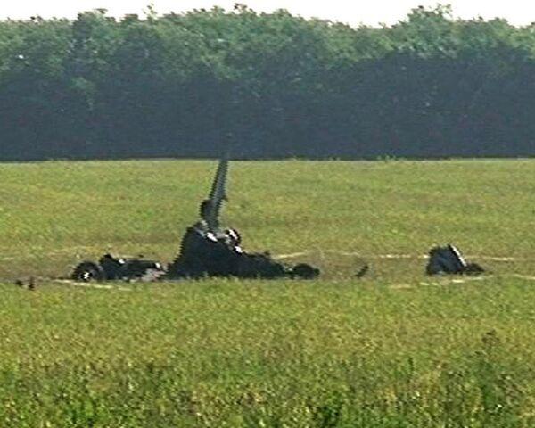 Су-24 разбился в Ростовской области. Видео с места события