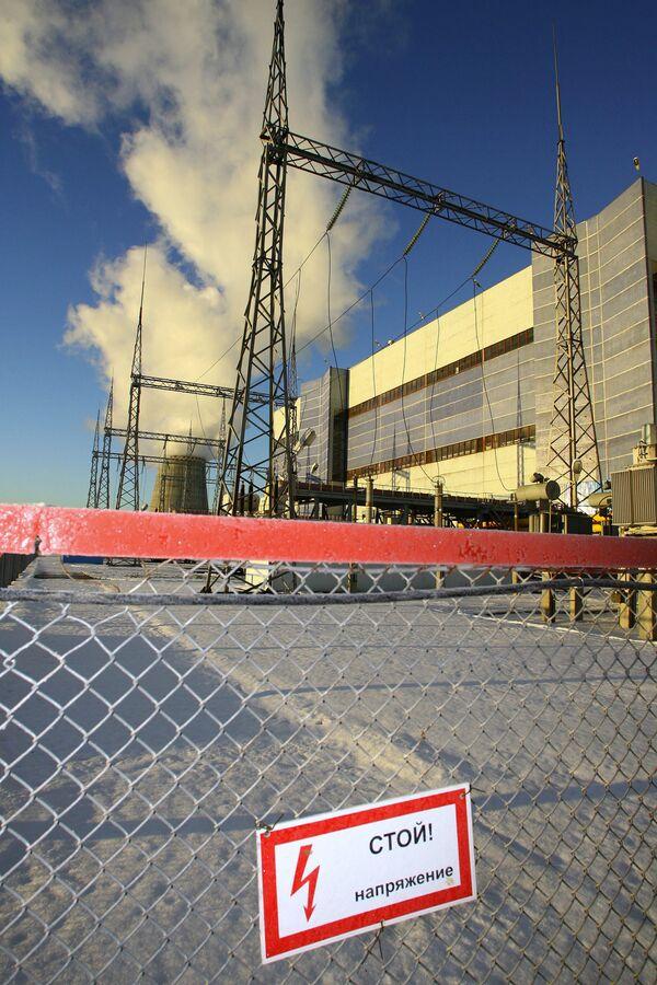 Опасная зона на территории ТЭЦ 27 ОАО Мосэнерго
