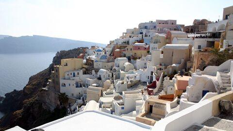 Греческий остров Санторин
