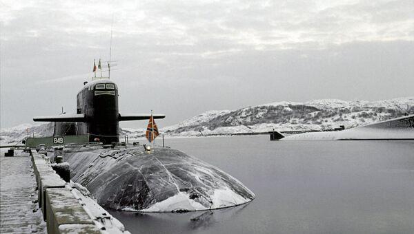 Атомная подводная лодка Северного морского флота