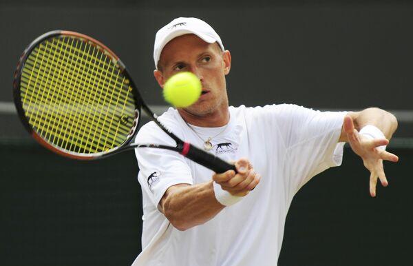Российский теннисист Николай Давыденко
