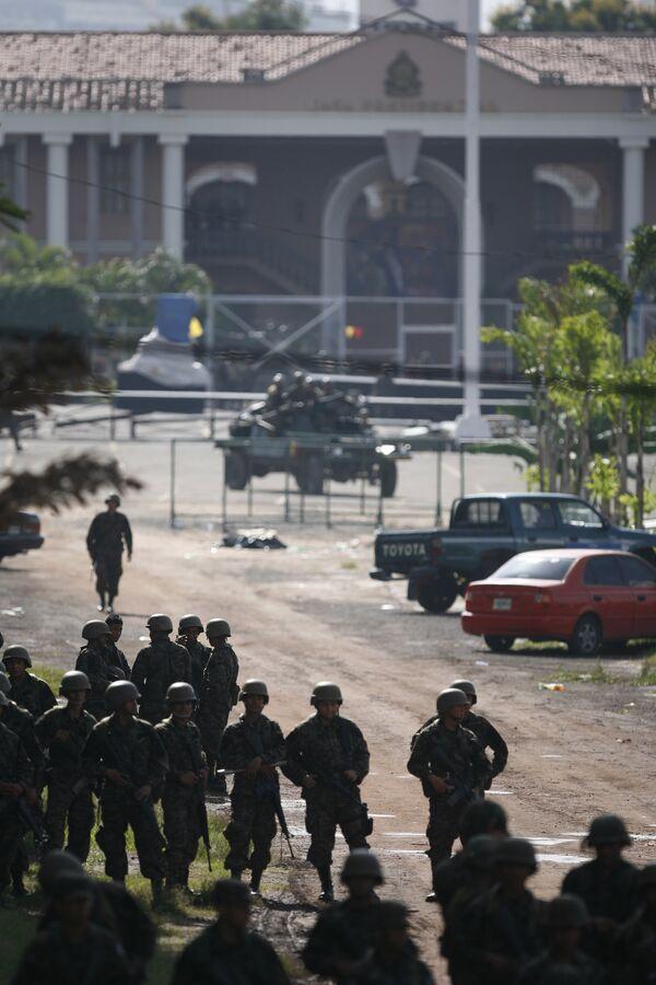 Государственный переворт в Гондурасе