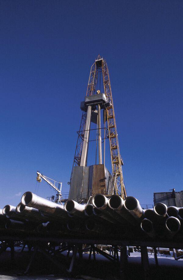 Нефтяная буровая вышка