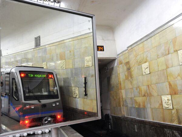 Пуск модернизированного подвижного состава Русич состоялся в Московском метрополитене от станции Партизанская