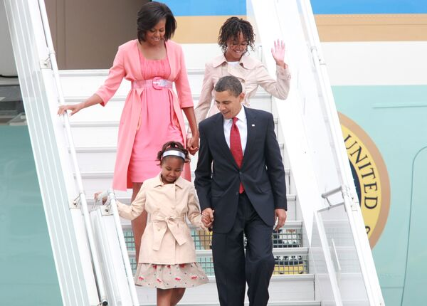 Рабочий визит президента США Барака Обамы в Россию