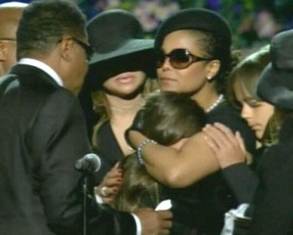 Церемония прощания с королем поп-музыки Майклом Джексоном