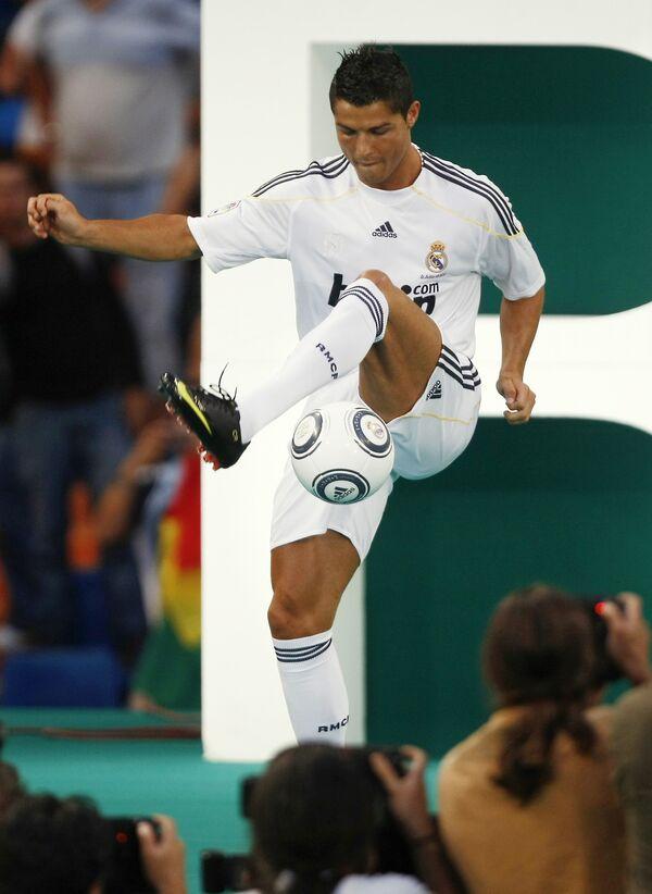 Криштиану Роналду в Реале