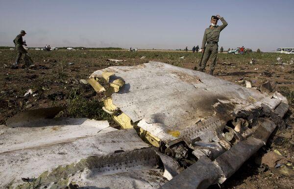 Крушение самолета Ту-154 авиакомпании Caspian Airlines в Иране
