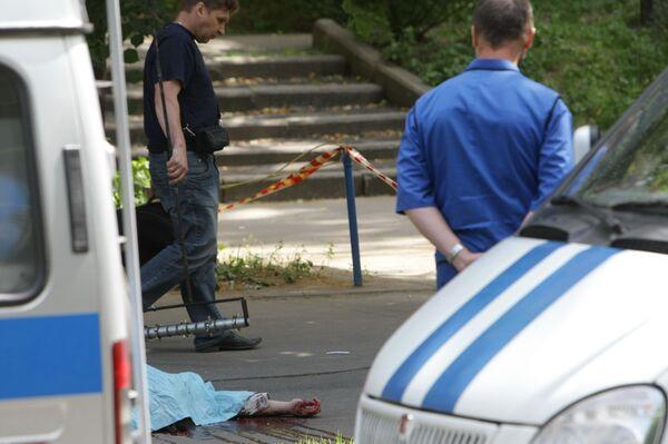 Сотрудник ДПС на служебной машине насмерть сбил женщину в Подмосковье