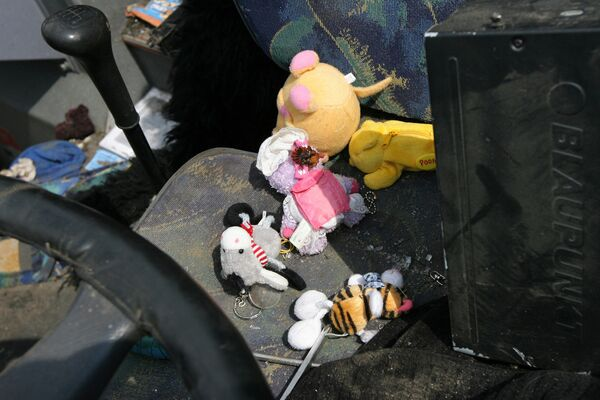 В аварии на Дону водитель автобуса пытался избежать столкновения с автомобилем